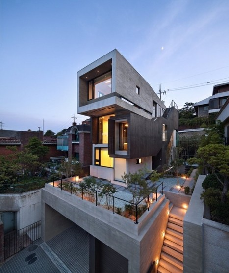 H-House in Seoul by bang by min | Awesome Architecture | Scoop.it