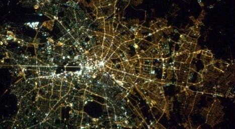 Vue de l'espace, Berlin est toujours coupée en deux | Slate | La Longue-vue | Scoop.it