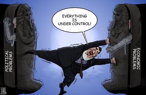 Double Take 'Toons: Egypt in Turmoil | Égypt-actus | Scoop.it