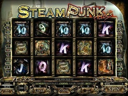 A Review of Steam Punk Heroes in 100 Spins | Online Slots | Scoop.it