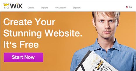 WIX - Free Website Builder | Create a Free Website | technologies | Scoop.it