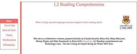 L2 Reading Instruction | Teaching L2 Reading | Scoop.it