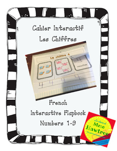 Cahier Interactif pour petit - Les Chiffres French Interactive notebook Numbers   Primary French Immersion Education   Scoop.it