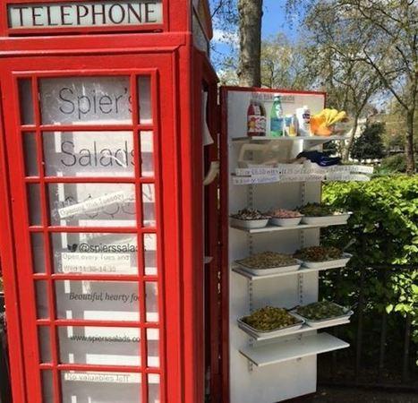 Un food truck dans une cabine téléphonique ! | Veille pour rire ou sourire | Scoop.it