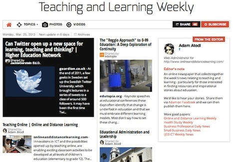 Teaching and Learning Weekly | Studying Teaching and Learning | Scoop.it