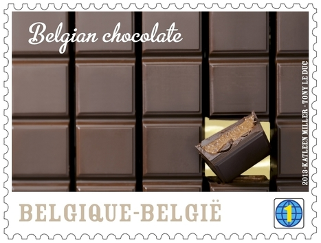 Chocolate stamps launched by Belgian postal service | Middays with Becky in DC | Scoop.it