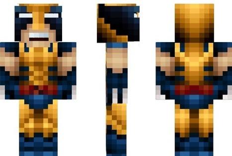 Wolverine Skin For Minecraft | Free Download Minecraft | Scoop.it
