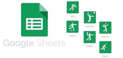 Gérer un planning d'entrainement et de match avec Google Sheets   De l'informatique pour les nuls   Scoop.it