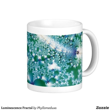 Luminescence Fractal Coffee Mug from Zazzle.com | Fractal Gifts | Scoop.it