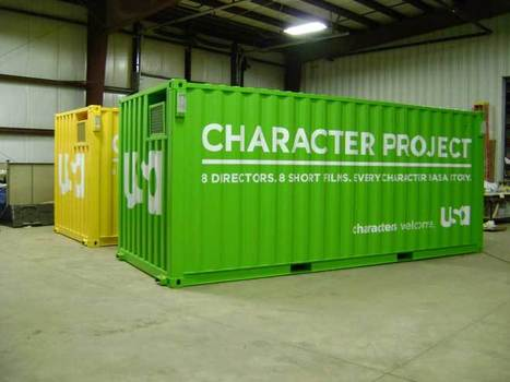 » Shipping Containers Become Mobile Mini Theaters   Container Architecture   Scoop.it