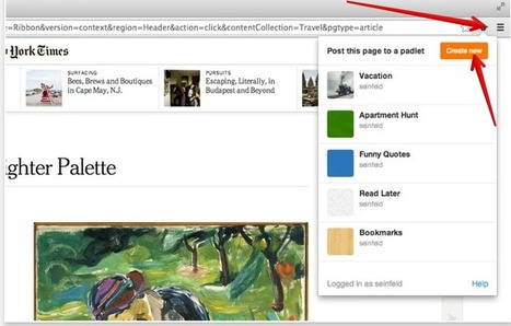 Padlet Mini A New Tool to Easily Bookmark and Share Resources with Students | EDUCACIÓN 3.0 - EDUCATION 3.0 | Scoop.it
