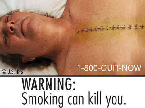 These Scary Cigarette Labels Won't Be Seen Because They Violate Big Tobacco's First Amendment Rights | Warning labels effect on people | Scoop.it