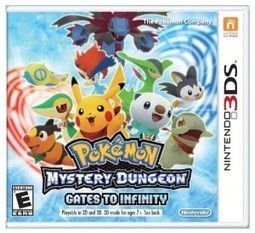 Pokémon Mystery Dungeon: Gates to Infinity - Nintendo - FIND THE GAMES | Games on the Net | Scoop.it