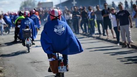 Ces patrons qui vont défiler en Mob «Bleue» sur les Champs-Élysées   Voir et prier   Scoop.it