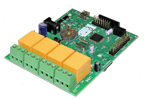 U96 as Usb Relay Controller | Serial LCD | Scoop.it