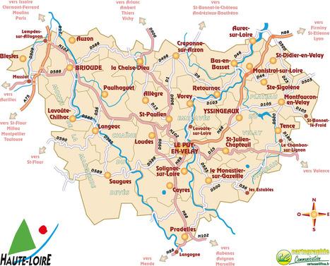 La Haute-Loire??....Mais c'est où ?? | Le Tourisme en Haute-Loire | Scoop.it