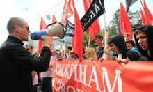 Russia launches criminal case against protest leader | Activism, Protest, Citizen Movements, Social Justice | Scoop.it