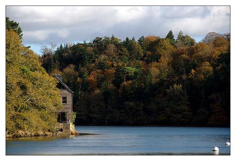 Bretagne - Finistère : Odet rive droite, du côté de Rossulien   photo en Bretagne - Finistère   Scoop.it