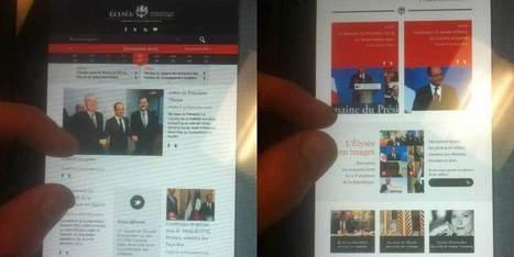 Voici à quoi va ressembler le nouveau site de l'Elysée | political consultant | Scoop.it