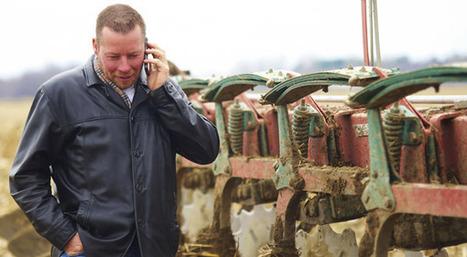 Les téléphones intelligents prennent la clé des champs | L'Utiliterre | Le magazine de référence en techniques agricoles | réseaux sociaux et agriculture | Scoop.it