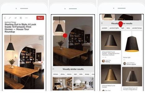 How Pinterest's 'Visual Search' Makes Brand Content More Discoverable | Pinterest | Scoop.it