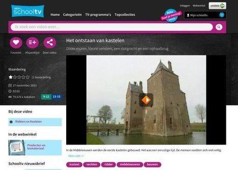 SchoolTV Beeldbank gaat op in vernieuwde site SchoolTV. Een eerste indruk… « André Manssen blogt vanaf de Zijlijn... | innovation in learning | Scoop.it