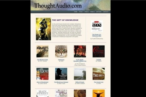 16 great websites for free audiobooks | Peer2Politics | Scoop.it