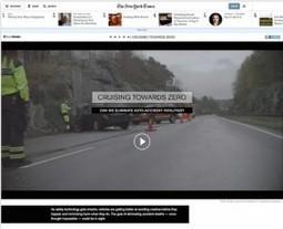 Volvo publie un dossier sur les accidents mortels en voiture dans le New York Times : Veille du Brand Content | Influence | Scoop.it