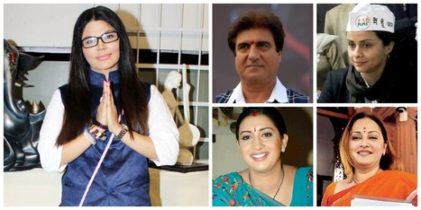Bollywood Celebrities who Won and Lost in Election 2014 | It's Entertainment | Scoop.it