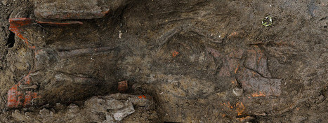 Panorama of burial in area B   Archaeology of Portus   Scoop.it