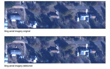 Microsoft Research deblurring tech now used in Bing aerial images ... | Aerial Mapping Weekly Update | Scoop.it