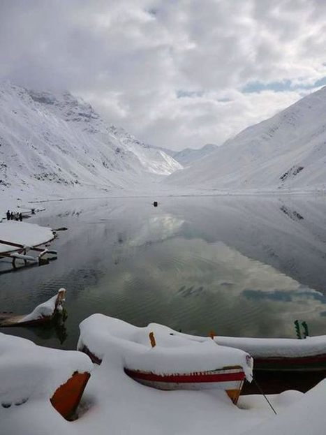 Saif ul Malook is being white and whiter day by day   lake saif ul malook   Scoop.it