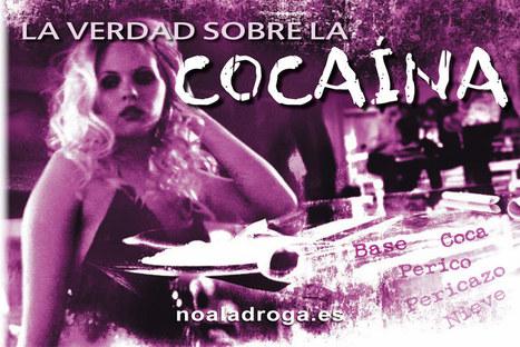 Página web oficial de la Fundación por un Mundo sin Drogas, la adicción a la cocaína, efectos de la cocaína | Drogas | Scoop.it