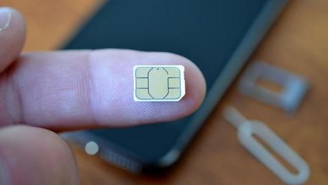 Apple et Samsung veulent faire disparaître la carte SIM | Communication et réseaux | Scoop.it