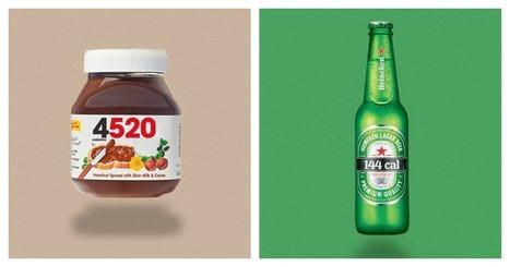Top 14 des logos célèbres s'ils indiquaient les calories des aliments, tout de suite ça calme | BrandsMarques | Scoop.it