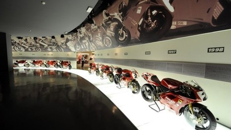 Virtual Tour of the Ducati Museum Available on Google Maps | Ductalk Ducati News | Scoop.it