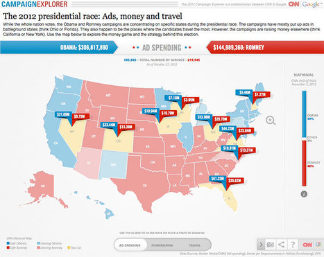 B-Reel develops HTML5-based US election data map for CNN and Google - News | responsive design II | Scoop.it