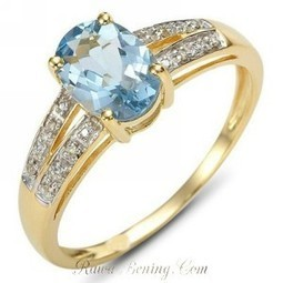 Cincin Blue Topaz CZ Ring 6 - Rawa-Bening.Com | Womans Fashion, LifeStyle and Beauty | Scoop.it