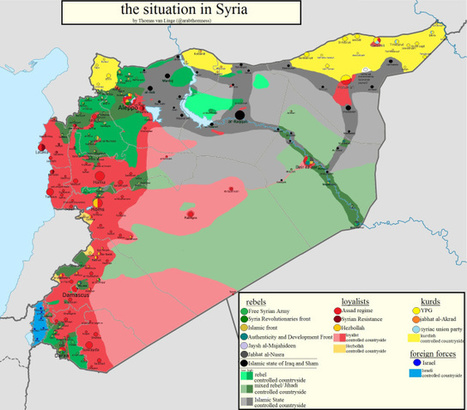 Mapping Syria ~ June 15th 2014   Syyria   Scoop.it