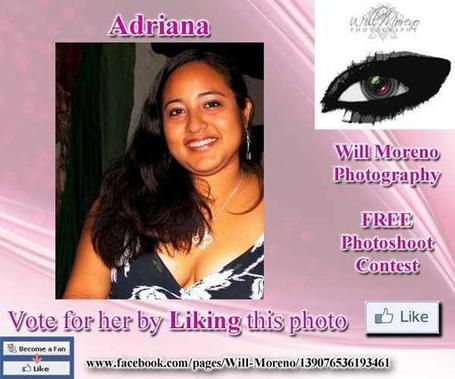 Adriana - - Contestant to win a FREE Photoshoot with Will Moreno | Belize in Photos and Videos | Scoop.it