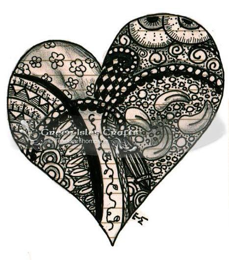 Art Journal Pages - Zentangle | Zen | Scoop.it