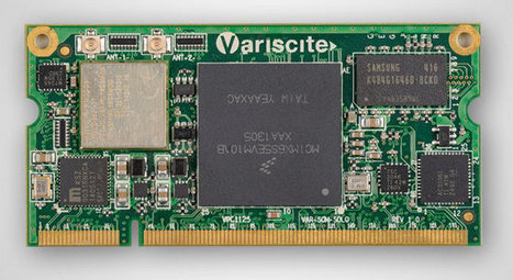 Variscite VAR-SOM-SOLO is a Tiny System-on-Module Based on Freescale i.MX6 Solo Processor | Embedded Systems News | Scoop.it