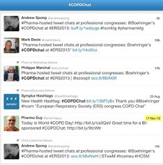 Pharma Marketing Blog: Boehringer Takes My Advice and Will Host the First-Ever Disease Condition TweetChat: #COPDChat   digital healthcare 1   Scoop.it
