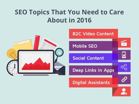 SEO Topics You Need to Care About in 2016   Social Media, Web Marketing, Blogging & Search Engines   Scoop.it