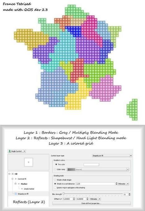 How to Tetrisify France with #QGIS by @datagistips | StylingM@p | Scoop.it