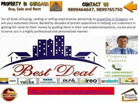 Property in Gurgaon Ppt Presentation | Apartments for Rent in Gurgaon | Scoop.it