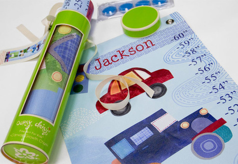 Best Birthday Gift: Personalized Growth Chart from Oopsy daisy Art | Kid's Gift Ideas | Scoop.it