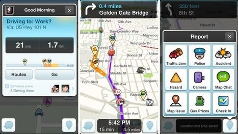 Navigation App Waze Gets A Huge Redesign – Now Less Cluttered, But Still Needs Improvement | TechCrunch | mobilité urbaine & tendances digitales | Scoop.it