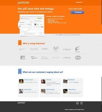 Postcron | CrunchBase Profile | micropreneur | Scoop.it