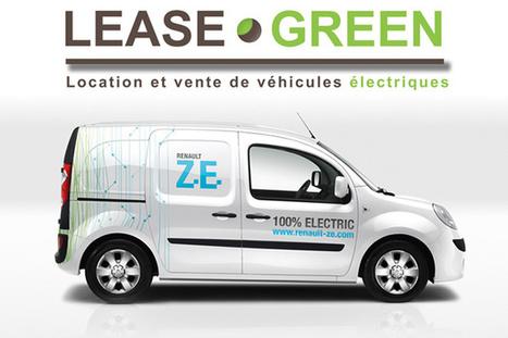 Lease Green, un loueur multimarque pour les véhicules électriques   La suite...   Scoop.it